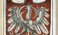 Herb Królestwa Polskiego z inicjałem Zygmunta I Starego