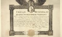 Urząd Municypalny Miasta Stołeczneg 1830