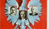"""Plakat propagandowy """"XX rocznica odzyskania niepodległości"""""""