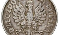 5 złotych 1925 rewers
